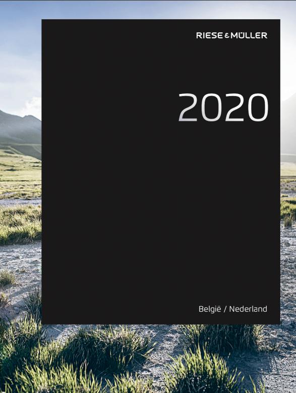 Riese und Muller cataloog 2020