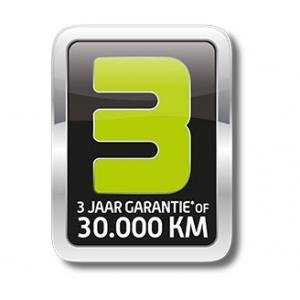 Sym 3 jaar garantie