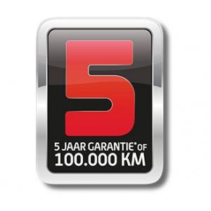 Sym 5 jaar garantie